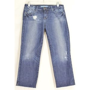 Lucky Brand jeans 6 x 31 Cate Stacked Skinny dark